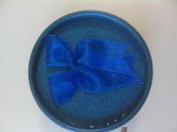 Кутийка за косичка в синьо