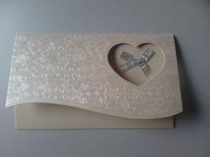 Сватбена покана в екрю