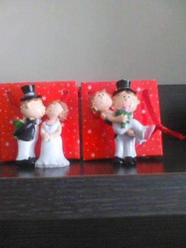 Младоженци от полирезин