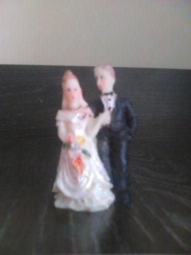 Младоженци от полирезин-модел 2