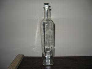 Луксозна бутилка квадрат