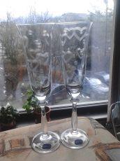 Кристални ритуални чаши