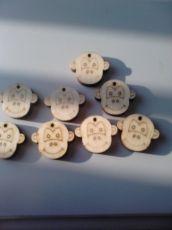 Дървена главичка-Маймунка