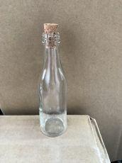 Мини бутилка 50 мл + коркова  тапа